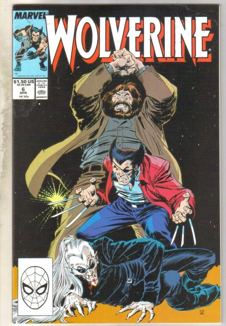 Wolverine #6 comic book near mint 9.4