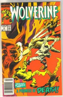 Wolverine #9 comic book near mint 9.4