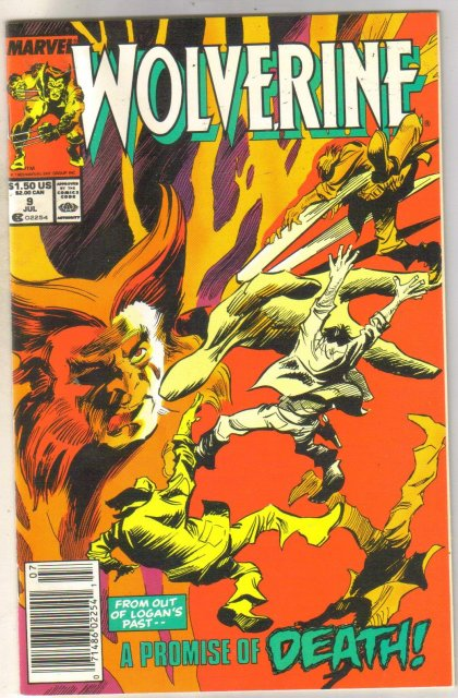Wolverine #9 comic book near mint 9.4