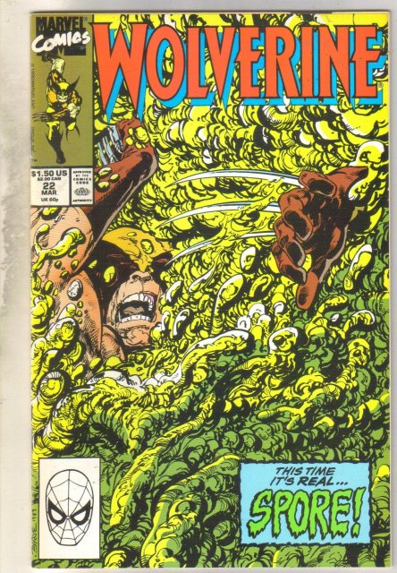 Wolverine #22 comic book mint 9.8