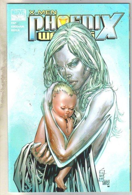 X-Men Phoenix Warsong #4 comic book mint 9.8