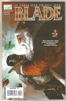 Blade #4 comic book near mint 9.4