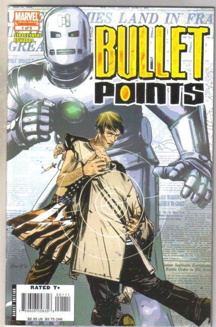 Bullet Points #1 comic book mint 9.8