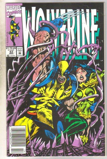 Wolverine #63 comic book near mint 9.4