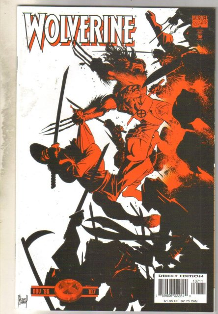 Wolverine #107 comic book mint 9.8