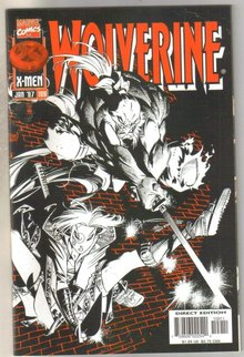 Wolverine #109 comic book mint 9.8