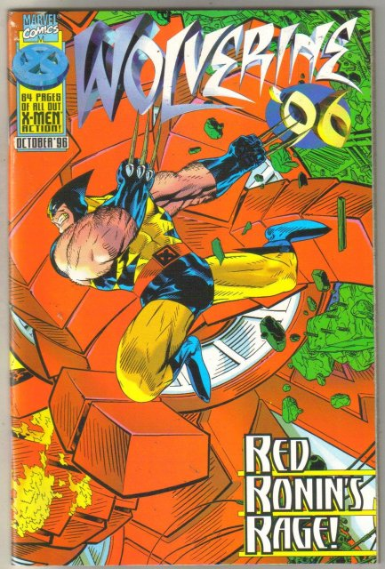Wolverine '96 comic book near mint 9.4