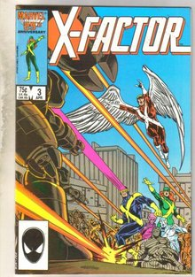 X-Factor #3 comic book near mint 9.4