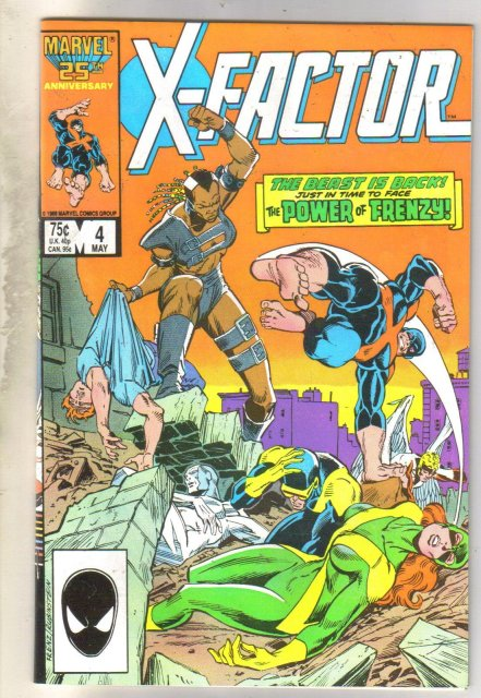 X-Factor #4 comic book near mint 9.4