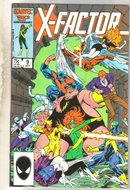 X-Factor #9 comic book near mint 9.4
