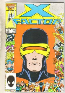 X-Factor #10 comic book very fine 8.0