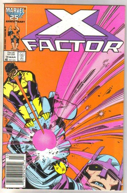 X-Factor #14 comic book mint 9.8