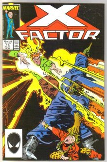X-Factor #16 comic book near mint 9.4