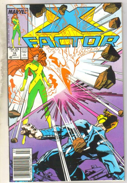X-Factor #18 comic book very fine 8.0
