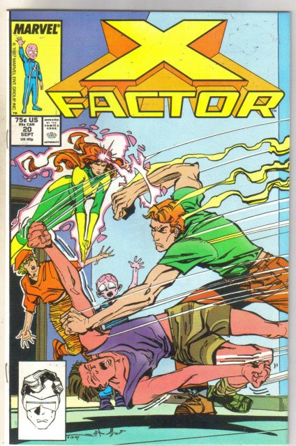 X-Factor #20 comic book mint 9.8