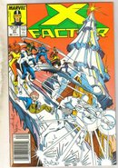 X-Factor #27 comic book near mint 9.4