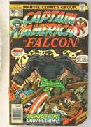 Captain America #205 comic book good 2.0