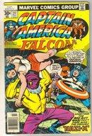 Captain America #211 comic book fine 6.0