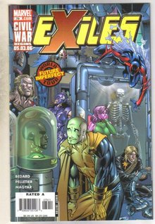 Exiles #79 comic book mint 9.8