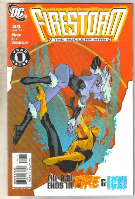 Firestorm #24 comic book mint 9.8