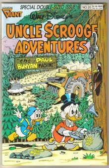 Uncle Scrooge Adventures #20 comic book mint 9.8