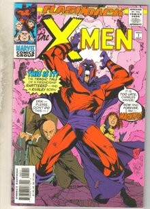 Flashback X-men #-1 comic book mint 9.8