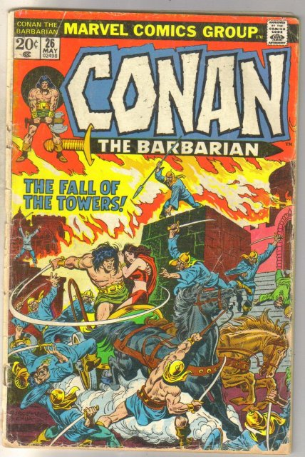 Conan the Barbarian #86 comic book good 2.0