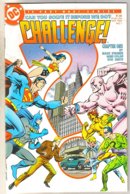 Challenge #1 comic book mint 9.8