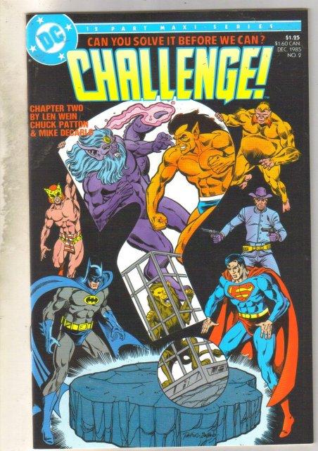 Challenge #2 comic book mint 9.8