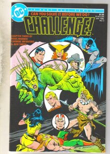 Challenge #3 comic book mint 9.8