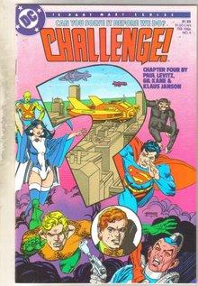 Challenge #4 comic book mint 9.8