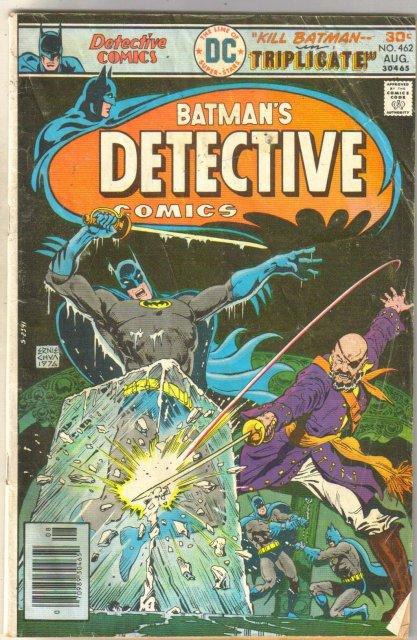 Detective Comics #462 comic book good/very good 3.0