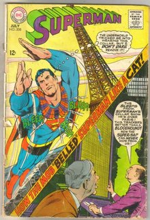Superman #208 comic book fair 1.5