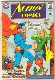 Action Comics #354 comic book very good minus 3.5