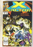 X-factor #42 comic book fine 6.0