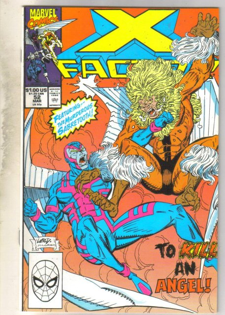 X-factor #52 comic book mint 9.8