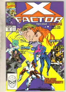 X-factor #53 comic book mint 9.8