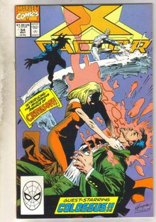 X-factor #54 comic book mint 9.8