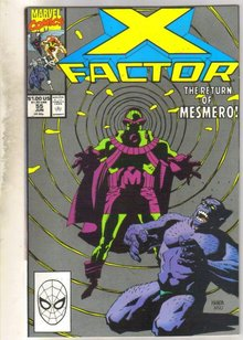 X-factor #55 comic book mint 9.8