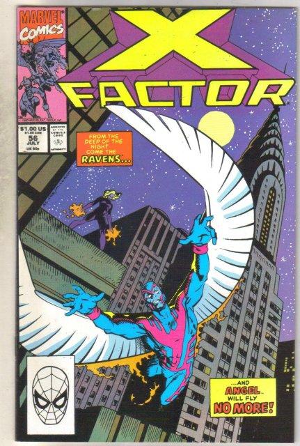 X-factor #56 comic book mint 9.8