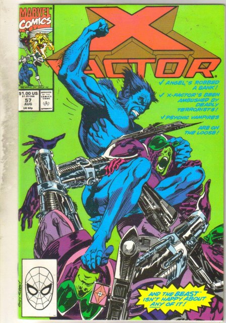 X-factor #57 comic book mint 9.8