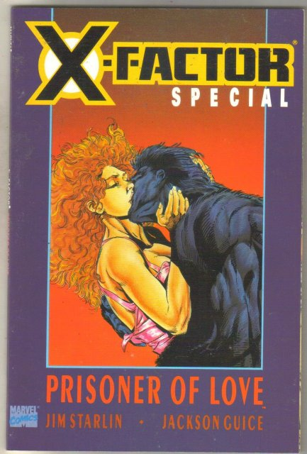 X-factor Special Prisoner of Love comic book near mint 9.4