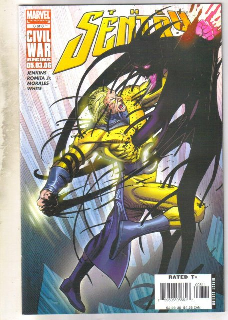 The Sentry #8 comic book mint 9.8