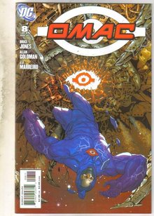 Omac #8 comic book near mint 9.4