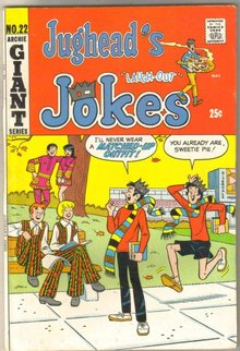 Jughead's Jokes #22 comic book fine 6.0
