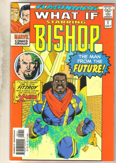 What If Flashback -1 (Bishop) comic book near mint 9.4