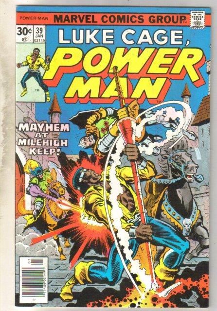 Luke Cage, Power Man #39 comic book very fine/near mint 9.0