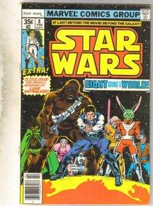 Star Wars #8  comic book very good 4.0