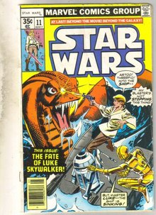 Star Wars #11  comic book very good 4.0
