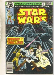 Star Wars #21 comic book very good 4.0